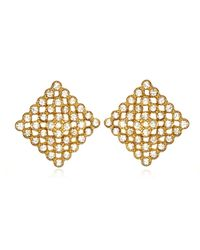 Piper Strand | Metallic Reid Earrings | Lyst
