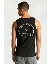True Religion   Black Crafted Pride Mens Tank for Men   Lyst
