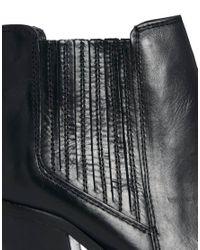 Carvela Kurt Geiger - Black Leather Tally Ankle Boots - Lyst