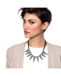 Lulu Frost - Metallic Jabrosa Spike Necklace - Lyst