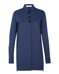 Dorothee Schumacher | Blue Elite Objects Blouse 1/1 | Lyst
