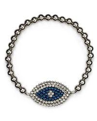 Roni Blanshay | Blue Evil Eye Bracelet | Lyst