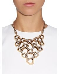 Lulu Frost - Metallic Narcissus Statement Necklace - Lyst