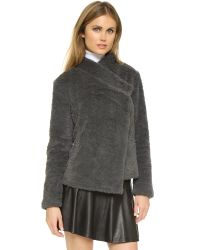 BB Dakota | Gray Jenny Jacket | Lyst