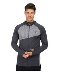 Asics | Gray Thermopolis® Hoodie for Men | Lyst