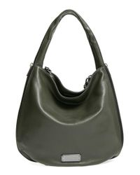 Marc By Marc Jacobs - Green 'new Q - Zippers Hillier' Hobo - Lyst