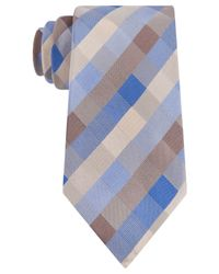 Kenneth Cole Reaction | Brown Color Box Geo Tie for Men | Lyst
