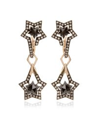 Tomasz Donocik | Detachable Black Diamond Drop Earring | Lyst