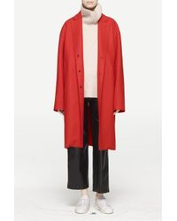Rag & Bone - Red Blankett Coat - Lyst