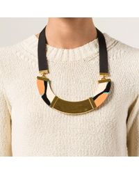 Marni - Green Resin Necklace - Lyst