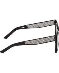 Ksubi   Gray Black Mesh Polaris Sunglasses for Men   Lyst