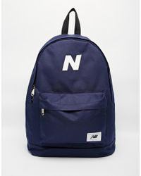 727851788f4 New Balance Mellow Backpack in Blue for Men - Lyst