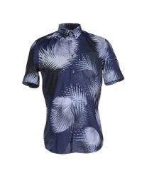 Façonnable - Blue Shirt for Men - Lyst