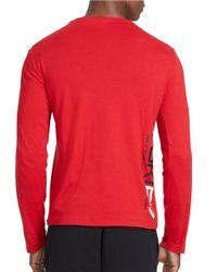 Polo Ralph Lauren | Red Ski Crewneck Shirt for Men | Lyst
