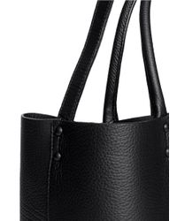 Pierre Hardy - Black Cutout 3d Effect Leather Shopper Bag for Men - Lyst