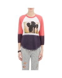Bliss and Mischief - Gray faro Palm Tree T-shirt - Lyst