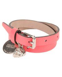 Alexander McQueen - Pink Wraparound Bracelet - Lyst