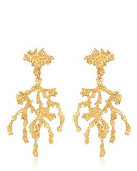 Giuseppe Zanotti | Metallic Ariel Vintage Earrings | Lyst