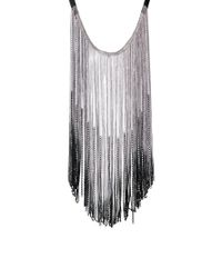ASOS | Multicolor Limited Edition Chain Fringe Bib Necklace | Lyst