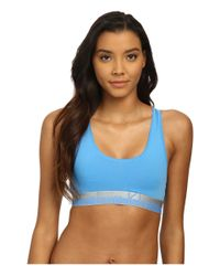Calvin Klein | Blue Magnetic Force Bralette | Lyst