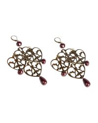 Erika Cavallini Semi Couture - Purple Earrings - Lyst
