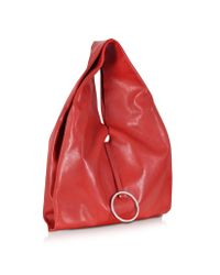 Jil Sander - Red Dita Minimal Tote Bag - Lyst