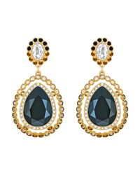 Swarovski | Blue Darling Pierced Earrings | Lyst