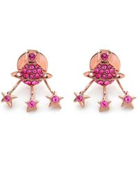 Vivienne Westwood | Pink Pia Earrings | Lyst