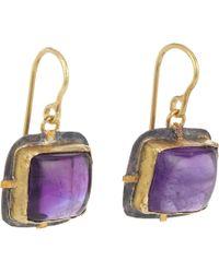 Judy Geib - Purple Amethyst Drop Earrings - Lyst