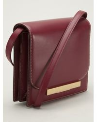 The Row - Red Classic Shoulder Bag - Lyst