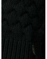 Moncler | Black 'mocler' Sweater Dress | Lyst