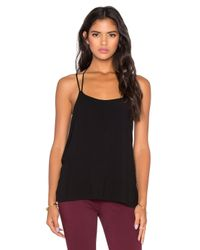 Bella Luxx | Black Geometric Y-back Cami | Lyst