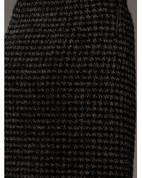 Balenciaga | Black Tweed Skirt | Lyst