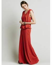 Free People - Red Fp Beach Womens Gallery Night Dress - Lyst