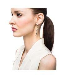 Lulu Frost - Metallic Serpentine Earring - Lyst