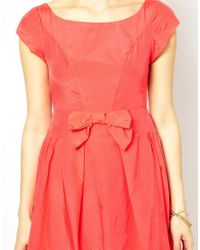 Traffic People - Red Cheerleader Dress - Lyst
