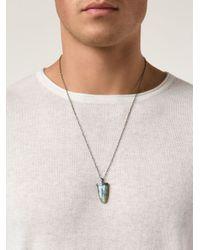 Joseph Brooks   Blue Pendant Necklace for Men   Lyst