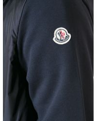 Moncler - Blue Knit Cardigan for Men - Lyst