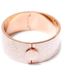 Liberty - White Ianthe Solid Cuff - Lyst
