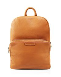 Marc By Marc Jacobs - Brown Classic Leather Backpack for Men - Lyst