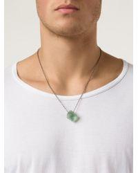 Joseph Brooks - Green Boulder Opal Pendant Necklace - Lyst