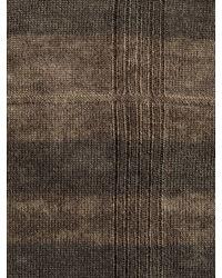 John Varvatos | Brown Silk Cashmere Knit Hat for Men | Lyst
