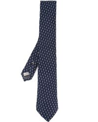 Canali | Blue Jacquard Tie for Men | Lyst