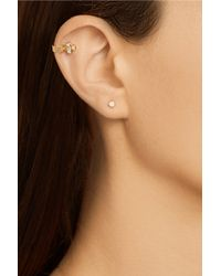 Maria Black - Metallic 18-Karat Gold Diamond Ear Cuff - Lyst