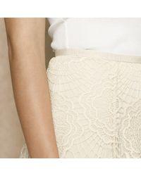 Ralph Lauren Blue Label - White Scalloped Lace Skirt - Lyst