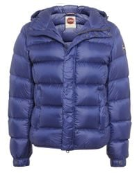 Colmar | Blue Down Puffa Jacket for Men | Lyst