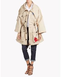 DSquared² | Natural Halia Parka | Lyst