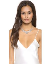 Tom Binns | Multicolor Madame Dumont Symmetrical Necklace Clear White | Lyst