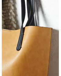 Free People | Natural Womens Captivated Bead Vegan Tote | Lyst
