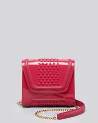 Yliana Yepez   Pink Crossbody - Mini Giovanna Silicone Studded Convertible   Lyst